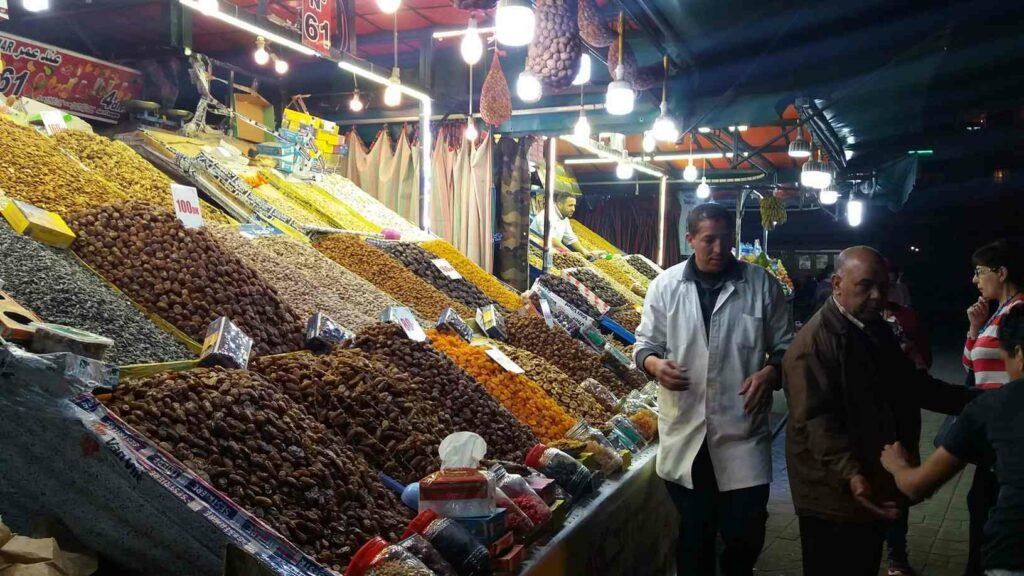 Maroko - prodej datlí - rady a doporučení na nákupy