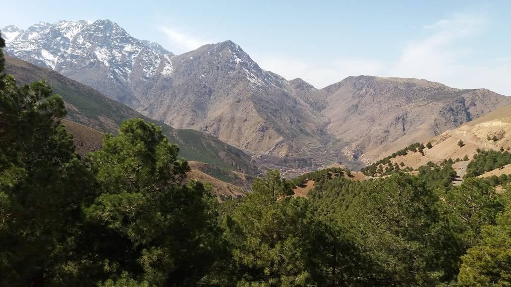 Imlil údolí - Maroko rady a doporučení na cestu