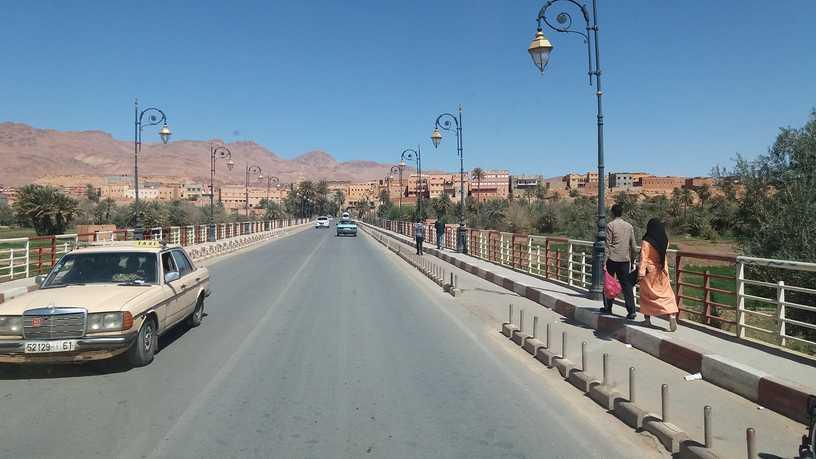 Maroko - cesta na jih - Tinerhir - rady a doporučení na cestu