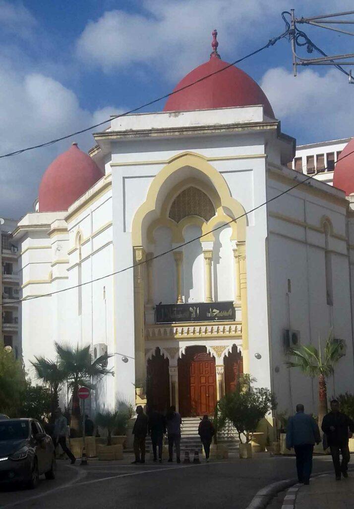 Alžírsko - mešita v centru města Konstantin