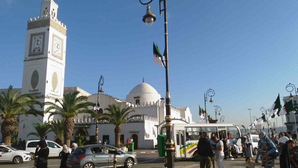 Centrum města Alžír