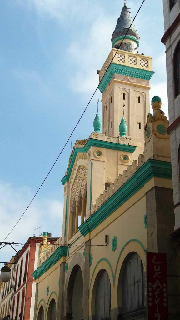 Alžírsko - mešita Konstantin - Rady a doporučení na cestu