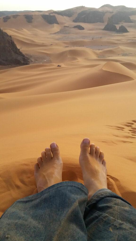 Alžírsko - Rady a doporučení - poušť v oblasti Djanet