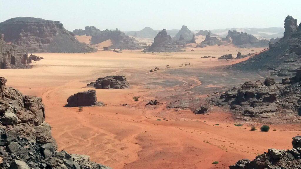 Sahara - Tadrart národní park