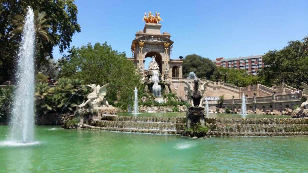 začít život v Barceloně - Parque de Ciutadela