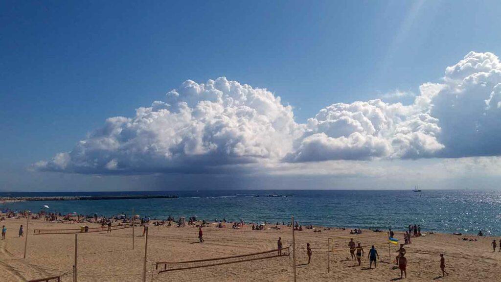 Port Olympic - Barcelonská pláž