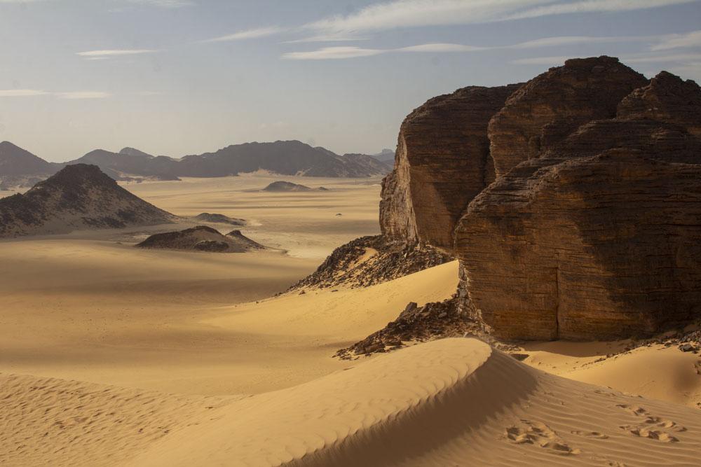 nádherná poušť Sahara