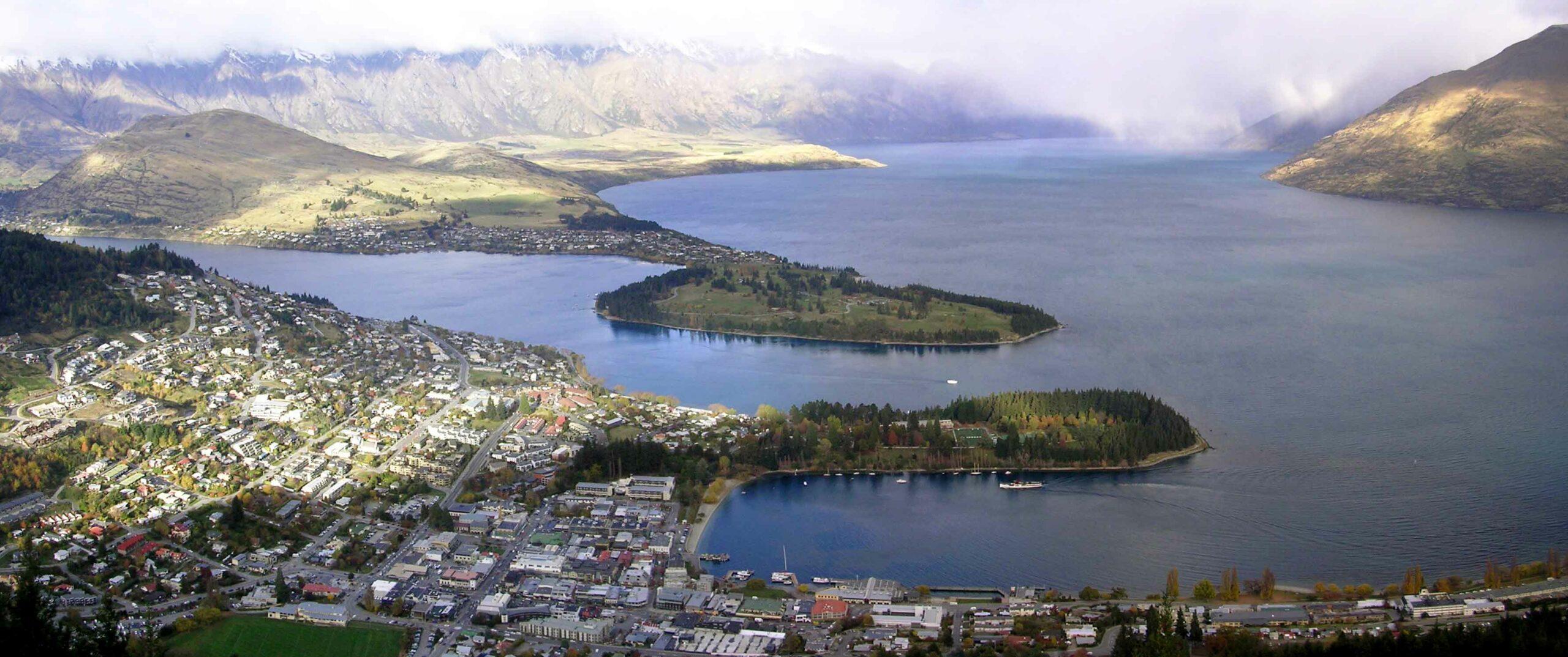 Queenstown Nový Zéland