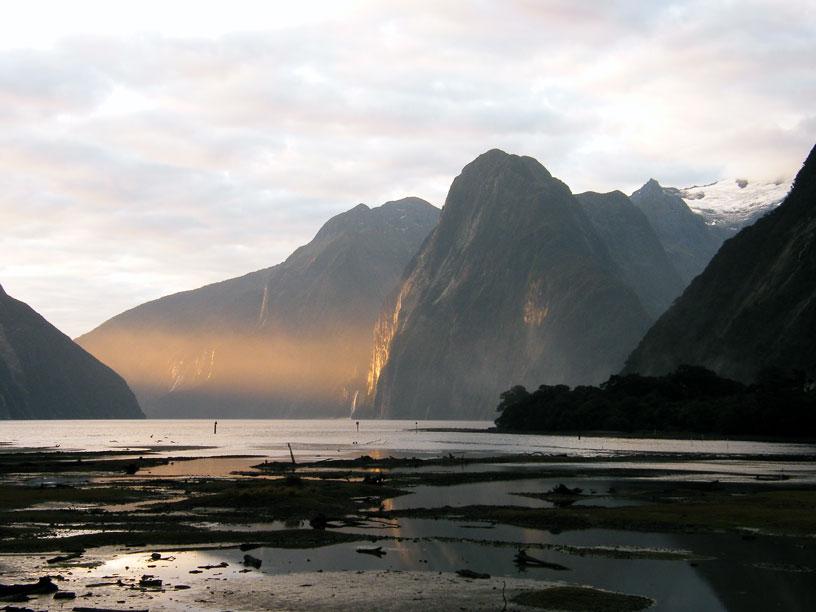 Cesta k Milford Sound Novy Zeland