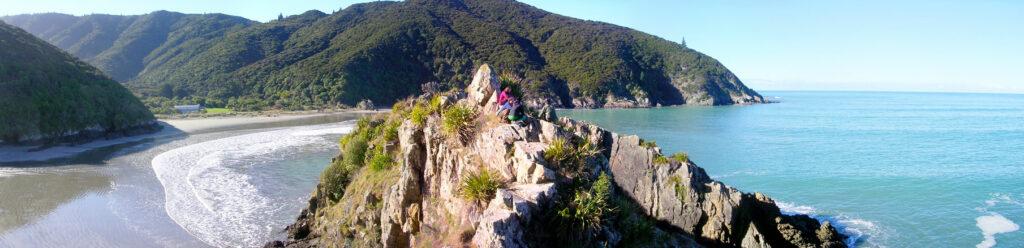 Waits Bay Nový Zéland - cestování po Novém Zélandu Jižní ostrov