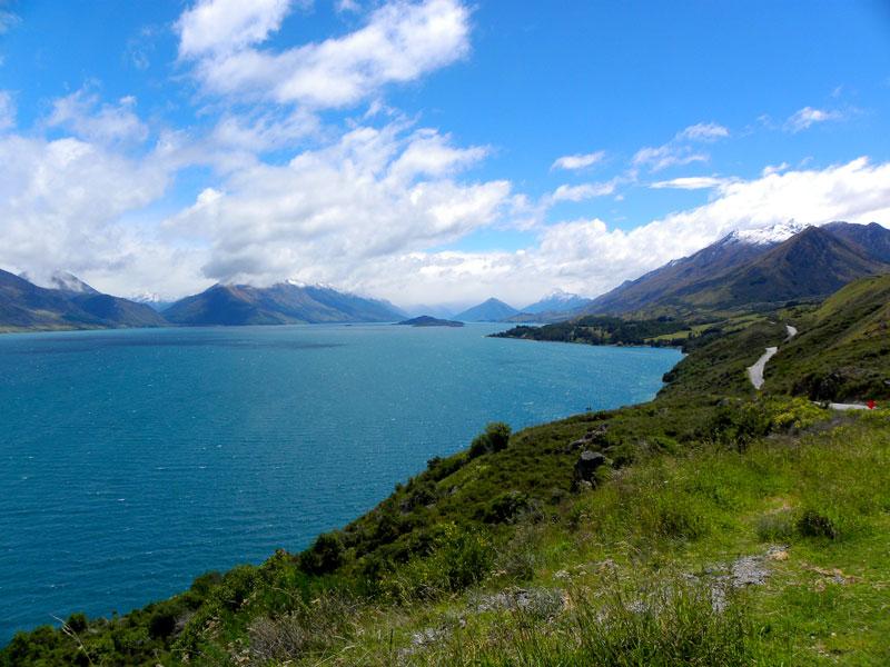 země mnoha krásných jezer - Nový Zéland Working Holiday Visa