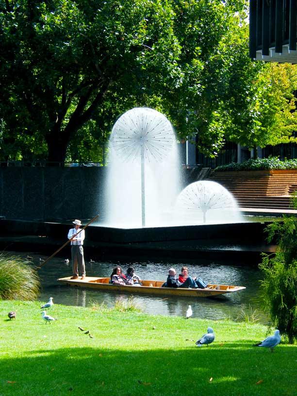 Christchurch na Novém Zélandu