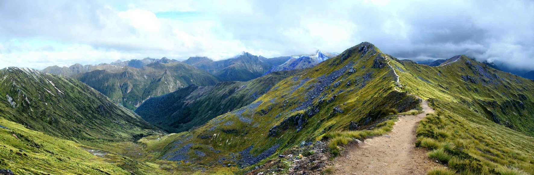 Iris Hut Nový Zéland