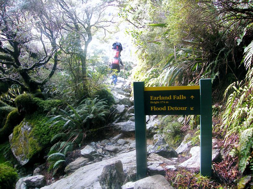 Na cestě na trek - Working Holiday Visa Nový Zéland
