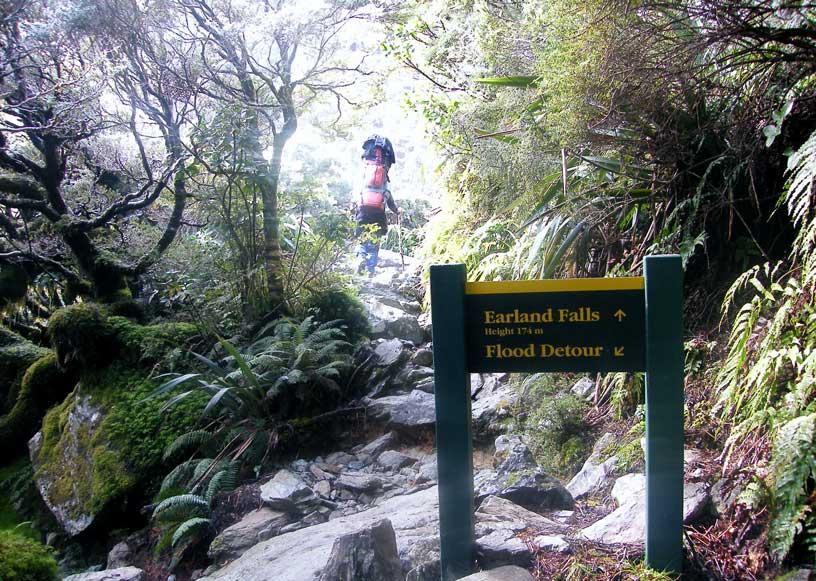 Na treku - Jižní ostrov Cestování po Novém Zélandu